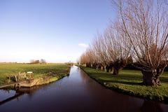 In der Landschaft der Niederlande Lizenzfreie Stockbilder