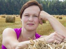 Der Landwirt Stockbild