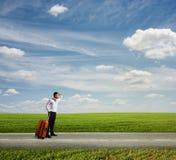 Der lange Weg Urlaub zu machen lizenzfreies stockfoto