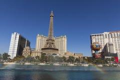 Der Las Vegas-Streifen in Las Vegas, Nanovolt am 20. Mai 2013 Lizenzfreie Stockbilder