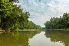 Der leckende Fluss Lizenzfreies Stockbild