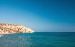 Der legendäre Geburtsort der nahe gelegenen Aphrodite Lizenzfreies Stockbild