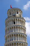 Der lehnende Kontrollturm von Pisa Stockfotos