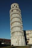 Der lehnende Kontrollturm von Pisa - Italien Stockfoto