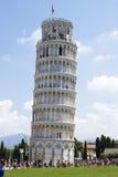 Der lehnende Turm von Pisa Stockfotografie