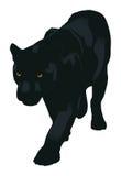 Der Leopard stock abbildung