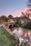 Der Lerryn-Fluss in Cornwall Stockfoto