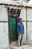 Der letzte Turtuk König, Yagbo Modh Khan Kacho, Ladakh, Indien Stockfotos
