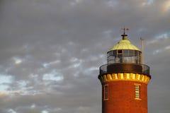 Der Leuchtturm in Cuxhaven stockfotografie