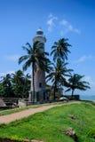 Der Leuchtturm im Fort von Galle Stockfotografie