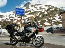 Der Leuchtturm an Oberalp-Durchlauf Lizenzfreie Stockfotografie