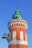 Der Leuchtturm Pingelturm in Bremerhaven Stockfoto