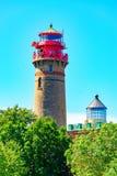 Der Leuchtturm Ruegen Stockfotografie
