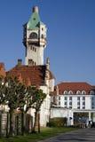 Der Leuchtturm in Sopot stockfoto