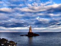 Der Leuchtturm von Ahtopol Lizenzfreie Stockfotografie