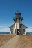 Der Leuchtturm von Fort Bragg, Kalifornien stockbilder
