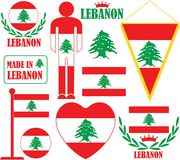 Der Libanon Lizenzfreie Stockfotos
