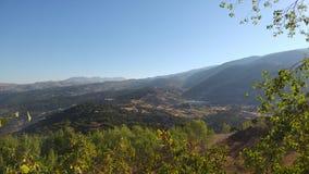 Der Libanon-Berge im Sommer Lizenzfreie Stockfotos