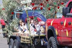 Der Libanon-jr.-Erdbeerfestival - Editiorial stockfotografie