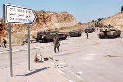 Der Libanon-Krieg 2006 stockbild