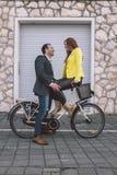 In der Liebe Stockfotos