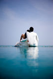 In der Liebesbraut und -bräutigam Stockfotos