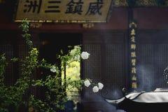 Der Lingyin-Tempel stockfoto