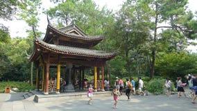 Der Lingyin-Tempel stockbild