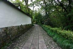 Der Lingyin-Tempel in Hangzhou lizenzfreie stockbilder