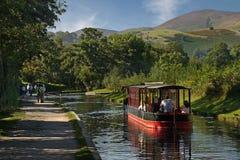 Der Llangollan-Kanal Stockfoto