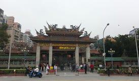 Der Longshan-Tempel Lizenzfreies Stockfoto