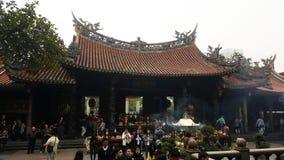 Der Longshan-Tempel Lizenzfreie Stockfotografie