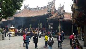 Der Longshan-Tempel Lizenzfreies Stockbild