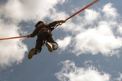 In der Luft Stockbild