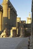 Der Luxor-Tempel in Ägypten Lizenzfreies Stockbild