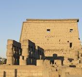 Der Luxor-Tempel in Ägypten Lizenzfreies Stockfoto
