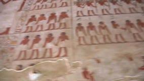 Der Luxor-Tempel volles HD Video stock video