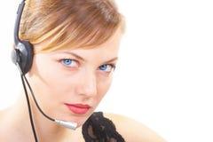 Der Mädchenbediener Lizenzfreie Stockfotos