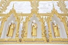Der Mönch Molding Wall Stockfoto