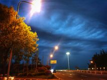 Der magische Himmel stockfotografie