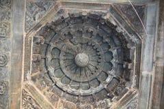Der Mahadeva-Tempel, West-Chalukya, Itagi, Koppal, Karnataka Stockfotografie