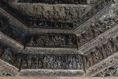 Der Mahadeva-Tempel, West-Chalukya, Itagi, Koppal, Karnataka Stockbilder