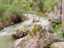 Der malerische Fluss Melendiz im Ihlara-Tal, Cappadocia lizenzfreies stockbild