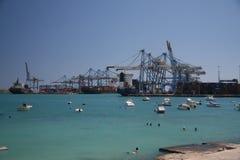 Der Malta-Freihafen stockbild