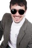 Der Mann im sunglasse lizenzfreies stockfoto