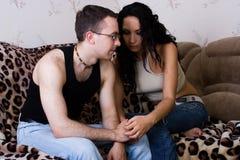 Der Mann und die Frau Stockbild