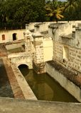 Der Manora-Fortgraben mit Zinne Lizenzfreies Stockbild