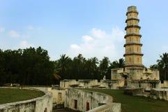 Der Manora-Fortturm mit Eingangsweg Stockbild