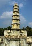 Der Manora-Fortturm mit Zinne Lizenzfreies Stockbild