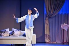 Der Mantel Schauspieler Zahljiangxis OperaBlue Lizenzfreie Stockfotos